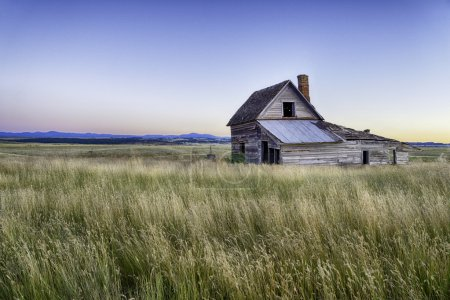 Ranch house in South Dakota