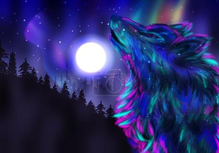Howling Wolf Spirit