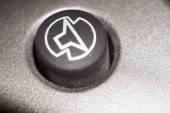Makro černá klávesnice