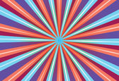 Abstract background with purple blue and red rays