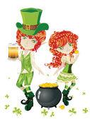 Leprechaun Boy and Girl