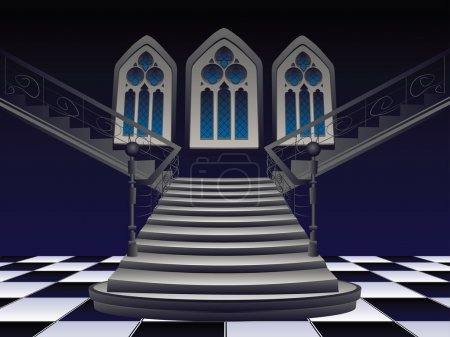 Gothic Stairs Interior