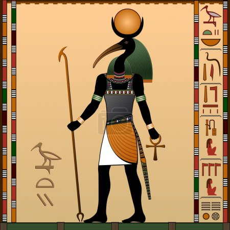 Thoth - the ancient Egyptian god of wisdom and kno...