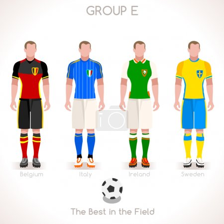 EURO 2016 GROUP E Championship