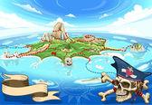 Pirate Cove sziget - Kincses Térkép