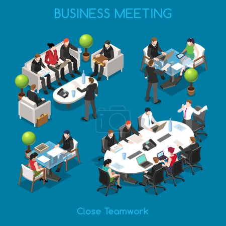 Business 01 People Isometric