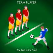 Football 02 People Isometric