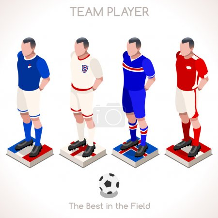 Football 03 People Isometric
