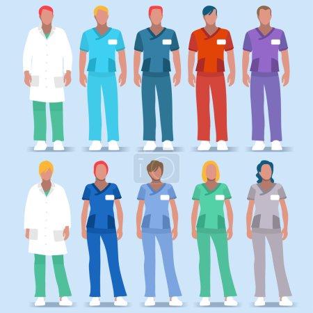 Hospital 01 People 2D