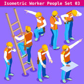 Construction 03 People Isometric