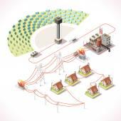 Energy 18 Infographic Isometric