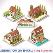 Medieval 01 Tiles Isometric
