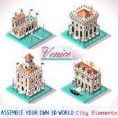 Venice 02 Tiles Isometric