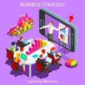 Webinars 03 Business Isometric