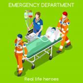Hospital 22 People Isometric