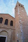 Church and Bell Tower of the basilica di santa eufemia in grado