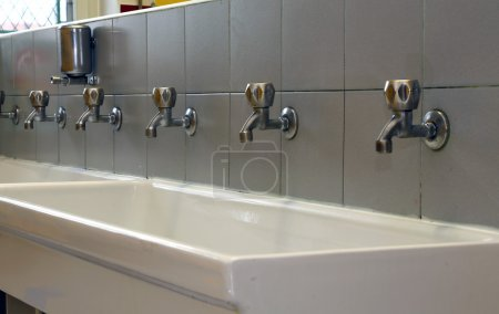 number of Bath Taps of a nursery for children