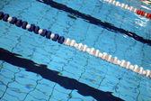 Lane, koupání závody v bazénu
