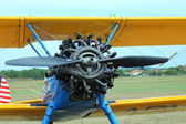 Thiene, Vicenza - Italy. 26th July, 2015: air show in Thiene Cit