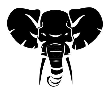 Elephant head symbol