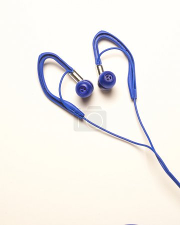 Blue Stereo Ear Buds
