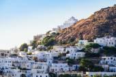 Scenic view of traditional Greek village Plaka, Greece