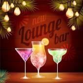 Vintage poster Lounge club