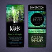 Disco Corporate identity templates Disco background