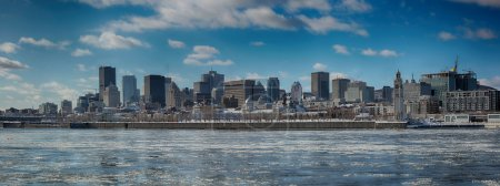 Montreal city in winter