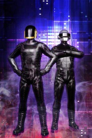 Cyberpunk guys daft punk