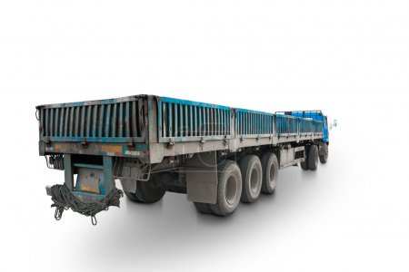 Long truck traile