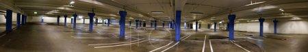 empty indoor car park