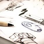 Idea sketch of product design...