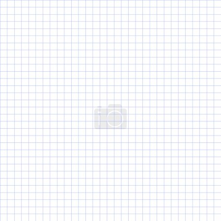 Illustration for Grid paper, basic squares. Blue. - Royalty Free Image