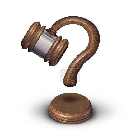 Legal Questions Concept