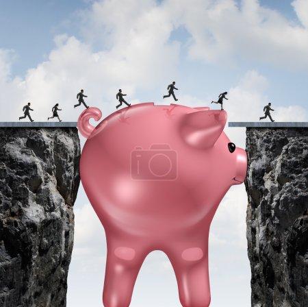 Money Bridge Concept
