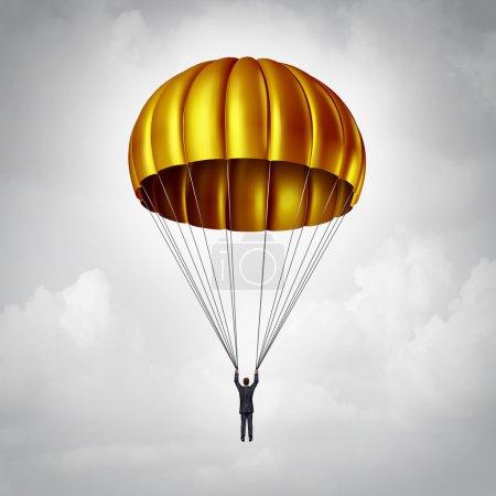 Golden Parachute Symbol