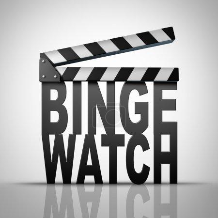 Binge Watch Concept