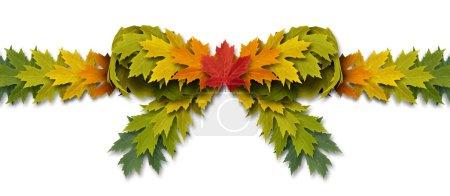 Leaf Bow Ribbon