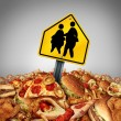 Children diet problems and obesity crisis in the s...