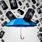Sinkenden Öl-Schutz
