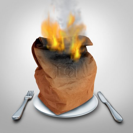 Burning Calories Concept