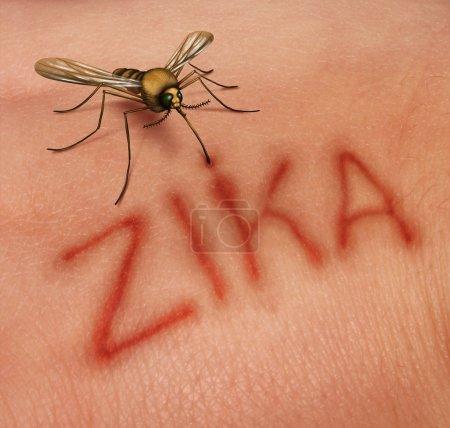 Zika Disease Concept
