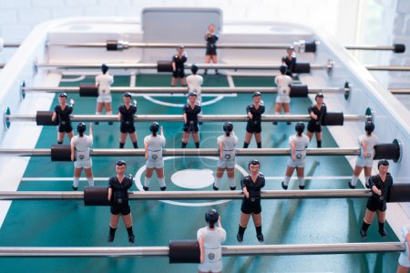 Table Football between players