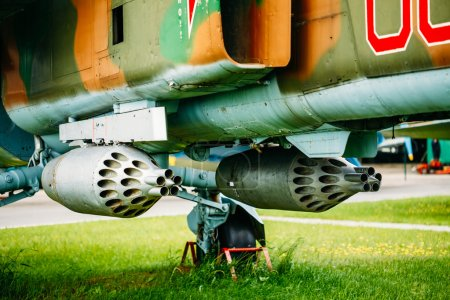 Russian Soviet Mikoyan MiG-27 is a variable-geometry ground-atta