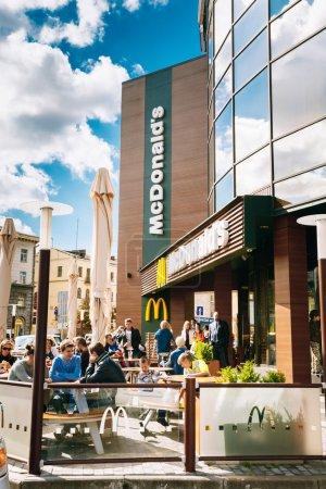 McDonalds restaurant In Minsk McDonalds