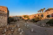 Pevnost svatého Jana v ostrově kos v Řecku