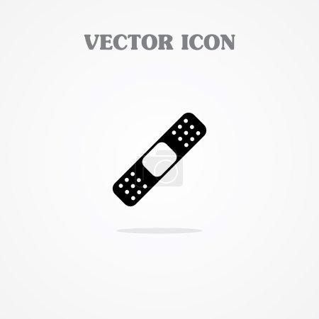 Illustration for Band Aid Icon. Bandage - Royalty Free Image