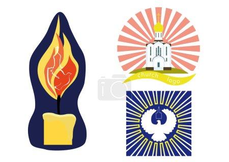 Logo with the Christian Church