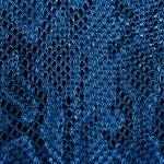 Blue snake skin background...